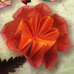康乃馨折纸方法