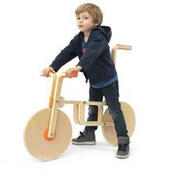 宜家木凳DIY木制自行车