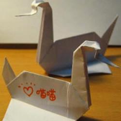 美剧《越狱》里的纸鹤折纸方法
