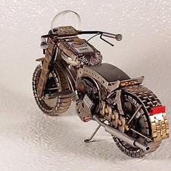 手表零件DIY手工制作的摩托车