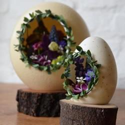 用蛋壳DIY家居饰品