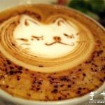 可爱咖啡拉花