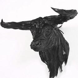 轮胎动物DIY雕塑