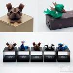 彩色丝带DIY的礼品包装带