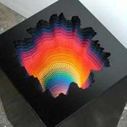 催眠手工纸雕塑
