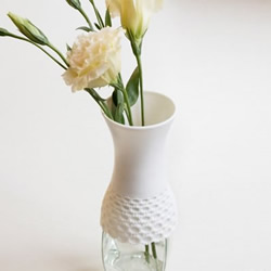 玻璃瓶DIY的时尚花瓶