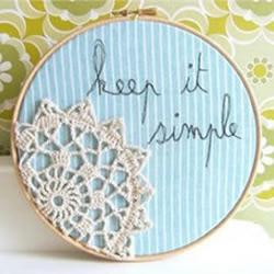 非常漂亮的手工绣绷布艺作品