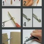 金属勺子DIY戒指的方法