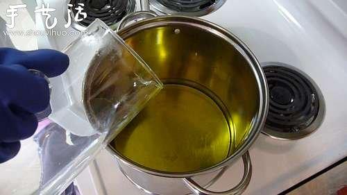 自製手工皂的教程 DIY橄欖油香皂的方法