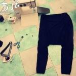 哈伦裤的手工制作方法