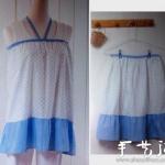简单的睡裙制作 简洁睡裙手工DIY