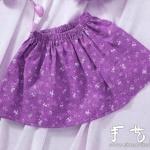 自制小女孩短裙 小女孩短裙制作方法