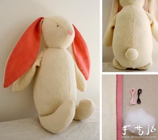 幼儿手工制作兔子