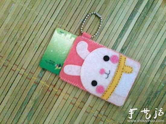 自制diy纸巾盒_不织布制作兔子图案卡套的教程_手艺活网