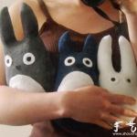 棉袜巧改造 手工DIY龙猫玩偶