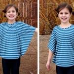 DIY女生蝙蝠衫 蝙蝠衫的制作