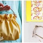 DIY漂亮日式手袋 日本风格手袋制作