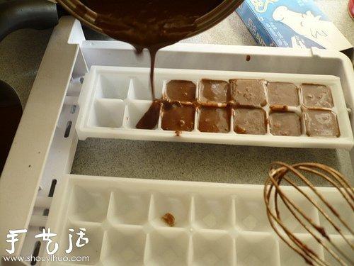 自制巧克力的方法 巧克力制作教程 -  www.shouyihuo.com
