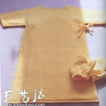 抓绒面料DIY宝宝内衣和手套