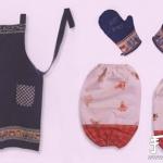 教你如何DIY围裙、袖套和手套