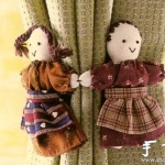 日本民族风布娃娃手工制作教程