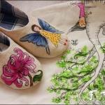漂亮温馨家居布鞋手工制作