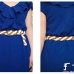 手工编织漂亮的腰带