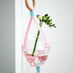 绳结创意DIY悬挂花瓶架