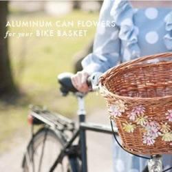 DIY漂亮的花朵篮筐 感受悠闲自在生活