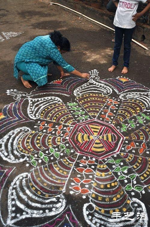 印度TamilNadu邦独特的民间艺术——米粒画 -  www.shouyihuo.com