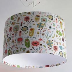 卡纸+木棍+塑料瓶 手工DIY漂亮吊灯灯罩
