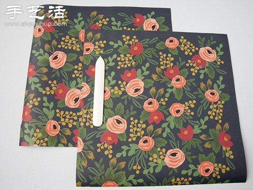 礼品盒制作教程 礼品盒DIY方法 -  www.shouyihuo.com