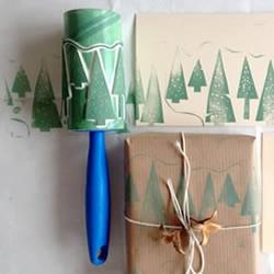 简单圣诞树图章手工制作