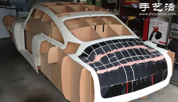 3D打印復刻一輛阿斯頓•馬丁DB4跑車