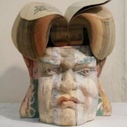 栩栩如生的人物肖像纸雕作品