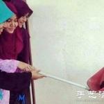 妹子们创造的自拍技能