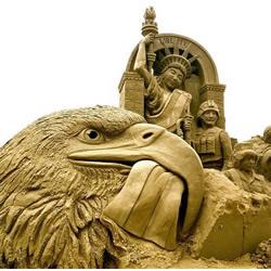 宏伟震撼的沙雕艺术
