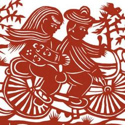 中国传统特色剪纸图案