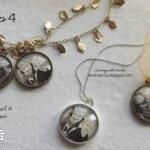 照片+钻石釉 DIY制作怀旧项链吊坠