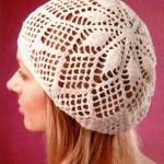 花样钩针编织帽子的方法