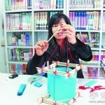 筷子+皱纹纸 手工制作漂亮宫灯