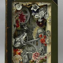 百科全书DIY神奇的纸雕作品