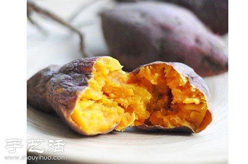 教你怎样用微波炉烤红薯 -  www.shouyihuo.com