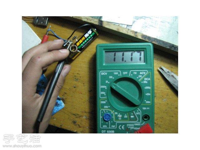 教你如何自制移动电源图解教程 -  www.shouyihuo.com