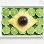 美食创意摆盘DIY世界各国国旗