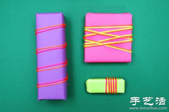 24個簡單創意禮物包裝設計DIY