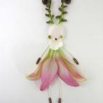 植物花卉DIY花仙子拼贴画