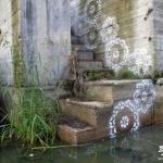 美化城市的花边图案涂鸦
