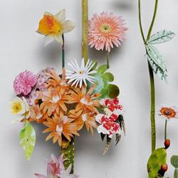 精美绝伦的纸花DIY