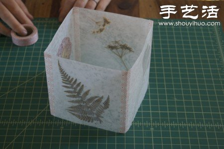 自制浪漫田园风灯笼 -  www.shouyihuo.com
